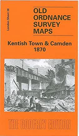 Kentish Town & Camden 1870 – Old Ordnance Survey Maps by Alan Godfrey