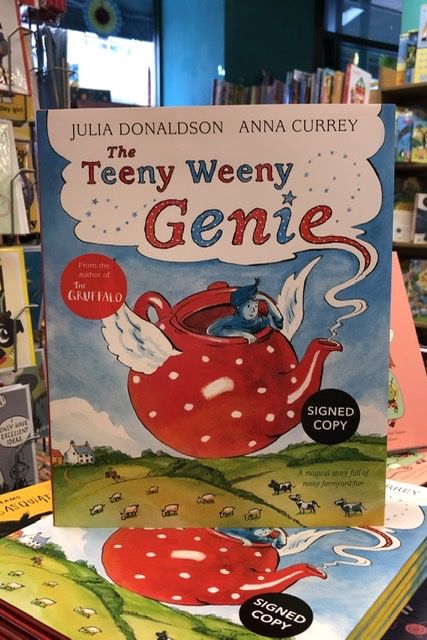 The Teeny Weeny Genie by Julia Donaldson & Anna Currey | 9781509843602