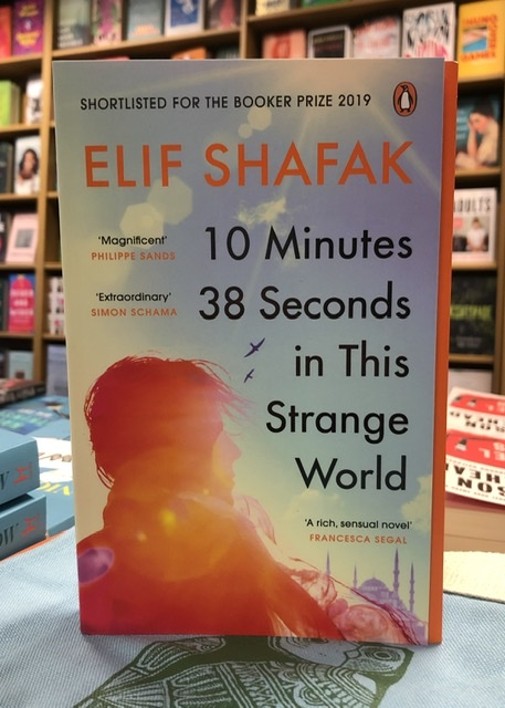 10 Minutes 38 Seconds in This Strange World by Elif Shafak |