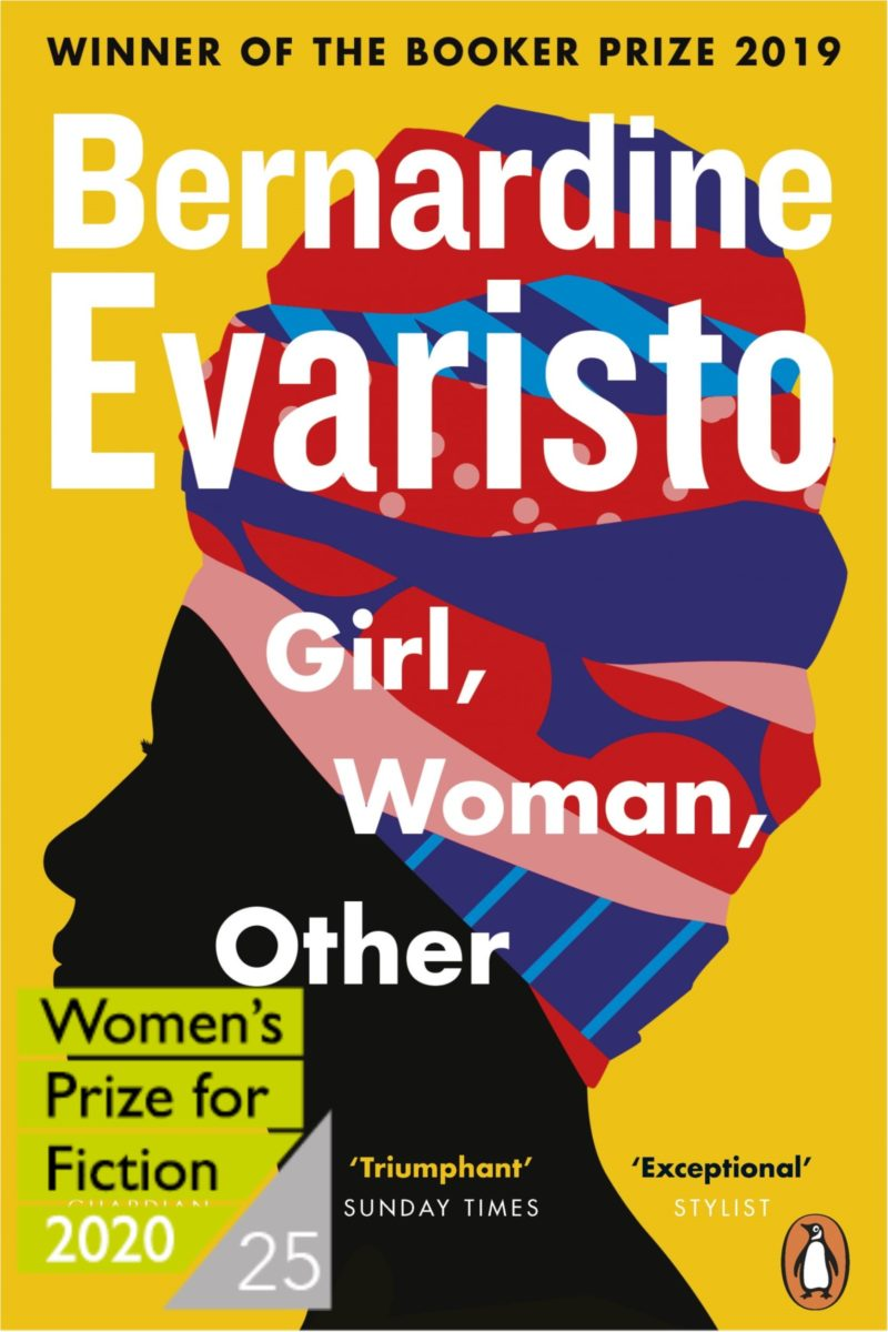 Girl, Woman, Other – Women's Prize Shortlist 2020 by Bernardine Evaristo |