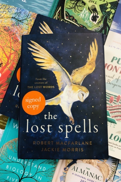 The Lost Spells by Robert Macfarlane & Jackie Morris |