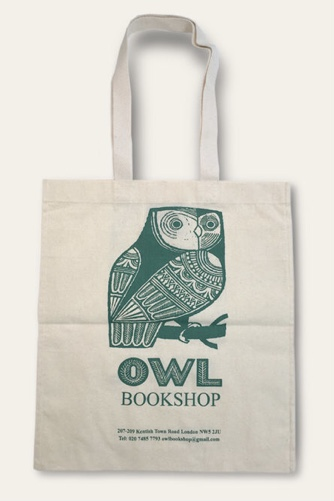 Owl Cotton Bag by  |