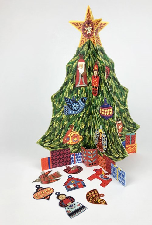 Advent Christmas Tree by Alice Melvin |