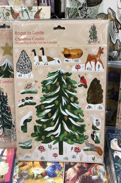 Christmas Conifer Pop & Slot Advent Calendar by