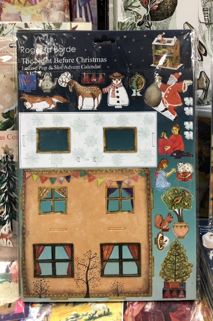 Night Before Christmas Pop & Slot Advent Calendar by  |