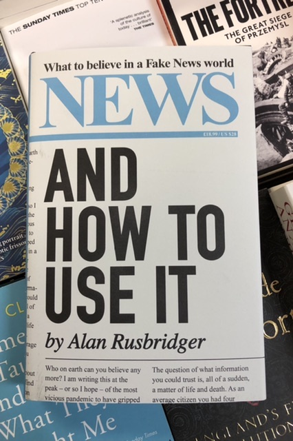News and How to Use It by Alan Rusbridger |