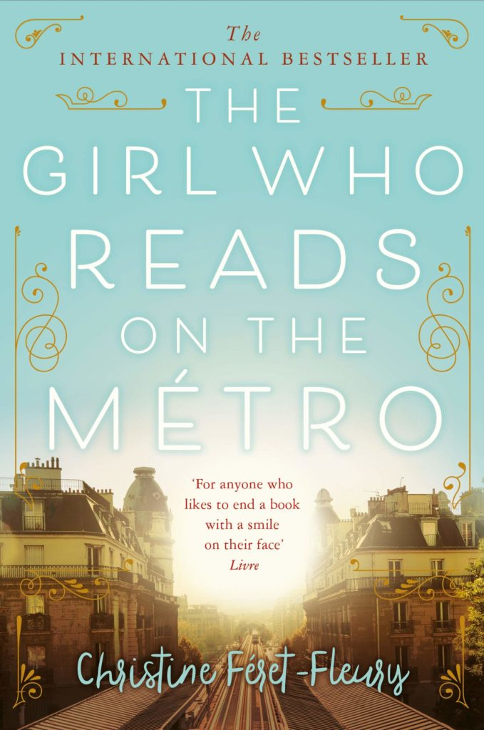 The Girl Who Reads on the Metro by Christine Feret-Fleury |