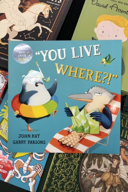 You Live Where? by John Hay & Garry Parsons |