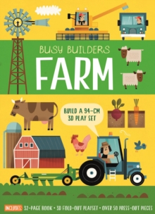 Busy Builders: Farm by Timothy Knapman | 9781787412903
